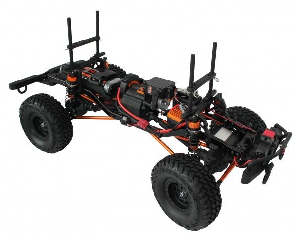 DF-4S Crawler XL 313mm Edition, LED, naviják, 2 rychlosti - vše ovládané z vysílače
