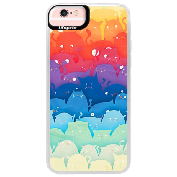 Neonové pouzdro Pink iSaprio - Cats World - iPhone 6 Plus/6S Plus