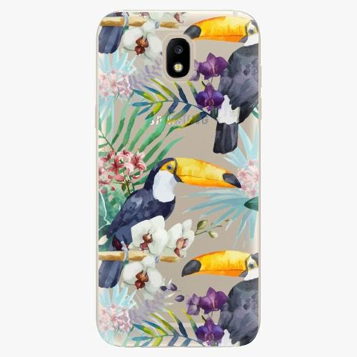 Plastový kryt iSaprio - Tucan Pattern 01 - Samsung Galaxy J5 2017
