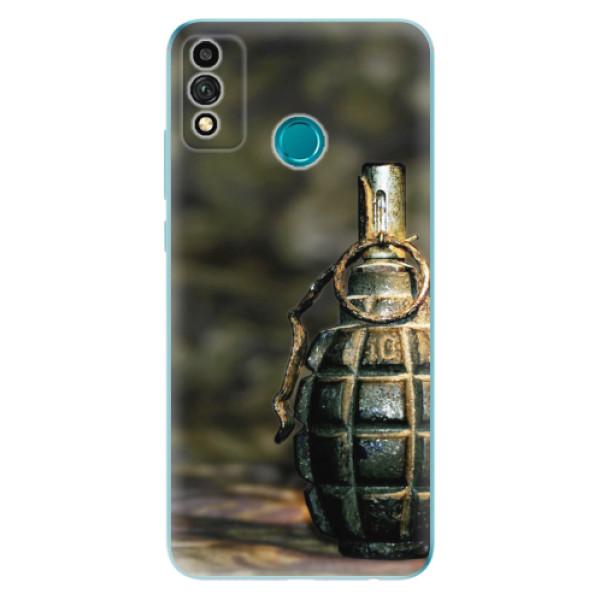 Odolné silikonové pouzdro iSaprio - Grenade - Honor 9X Lite