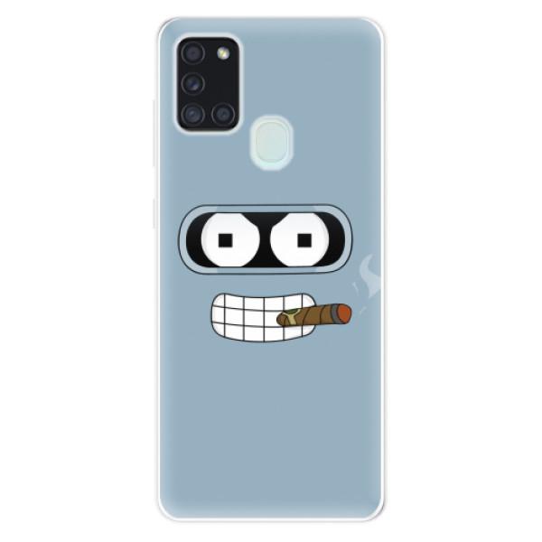 Odolné silikonové pouzdro iSaprio - Bender - Samsung Galaxy A21s