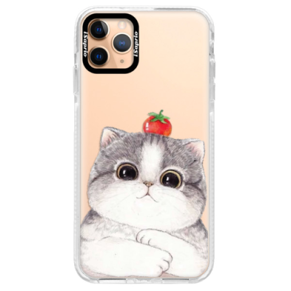 Silikonové pouzdro Bumper iSaprio - Cat 03 - iPhone 11 Pro Max
