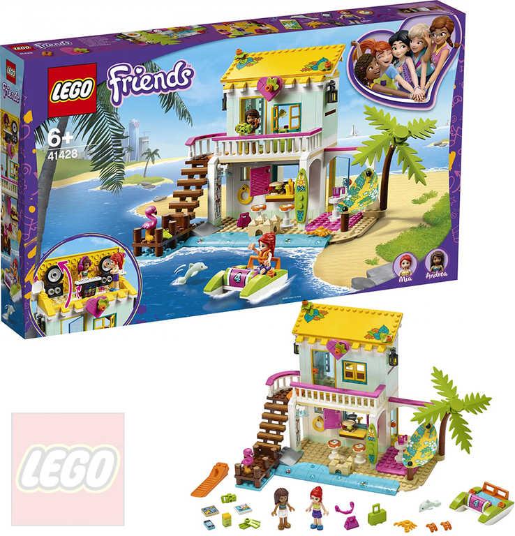 LEGO FRIENDS Domek plážový 41428 STAVEBNICE