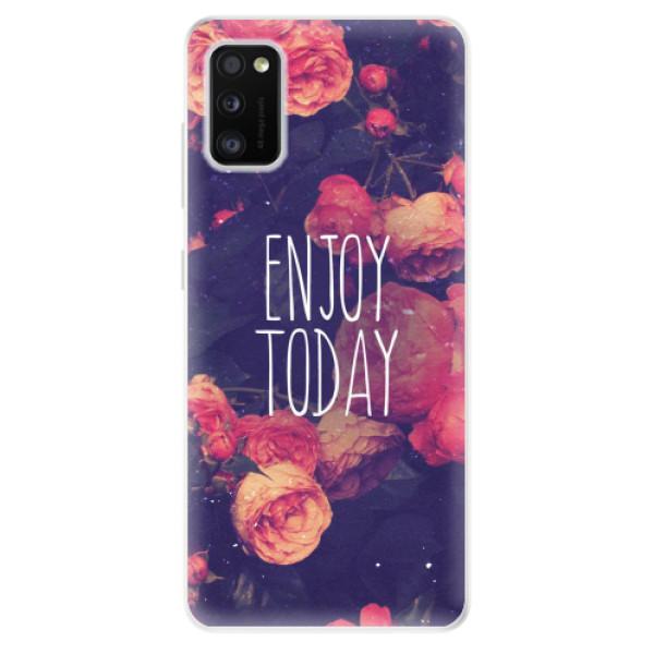 Odolné silikonové pouzdro iSaprio - Enjoy Today - Samsung Galaxy A41