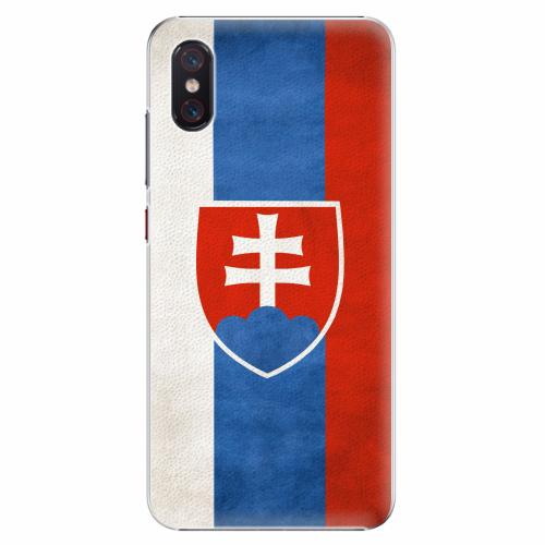 Plastový kryt iSaprio - Slovakia Flag - Xiaomi Mi 8 Pro