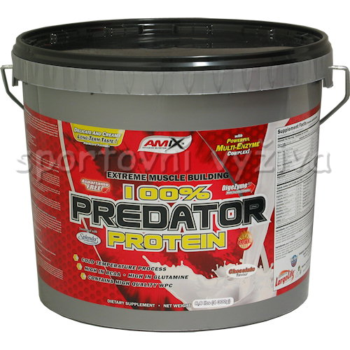 100% Predator Protein - 4000g-strawberry