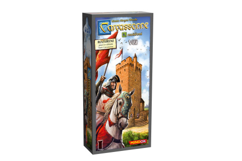 Carcassonne 4. roz Věž