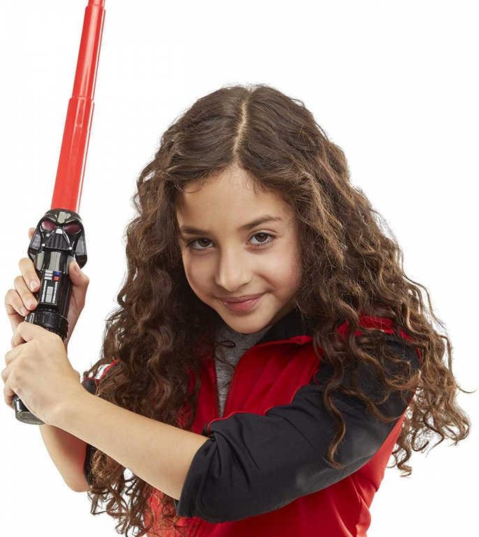 HASBRO Star Wars meč teleskopický 74cm plastový 4 druhy