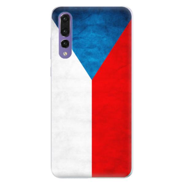 Silikonové pouzdro iSaprio - Czech Flag - Huawei P20 Pro