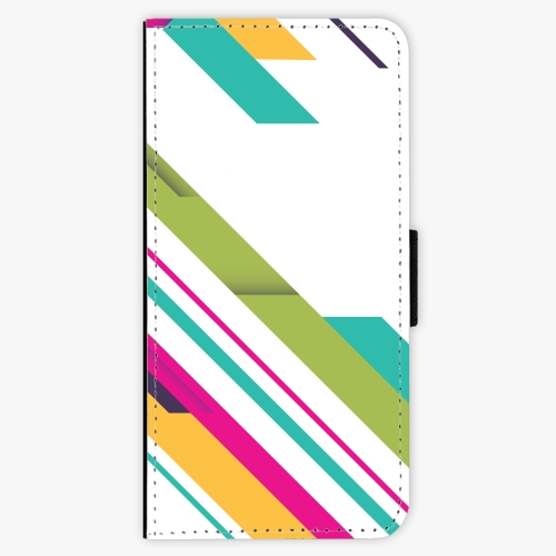 Flipové pouzdro iSaprio - Color Stripes 03 - Samsung Galaxy A3 2017