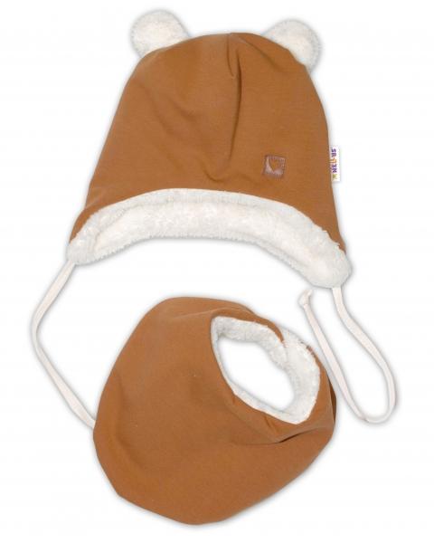 baby-nellys-zimni-koziskova-cepice-s-satkem-love-medova-horcice-vel-42-44-cm-42-44-cepicky-obvod