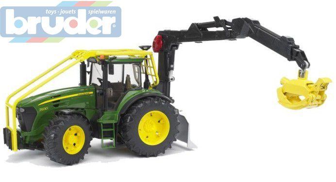 BRUDER 03053 Traktor lesní JOHN DEERE 7930