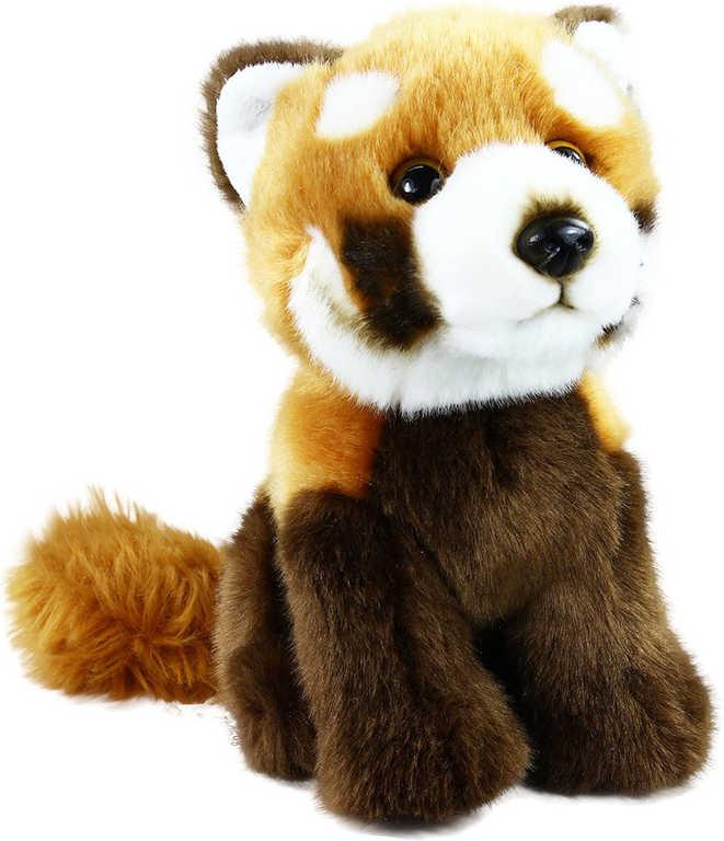 PLYŠ Panda červená sedící 18cm exkluzivní kolekce *PLYŠOVÉ HRAČKY*