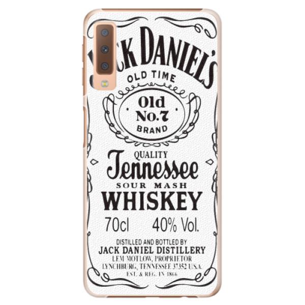 Plastové pouzdro iSaprio - Jack White - Samsung Galaxy A7 (2018)