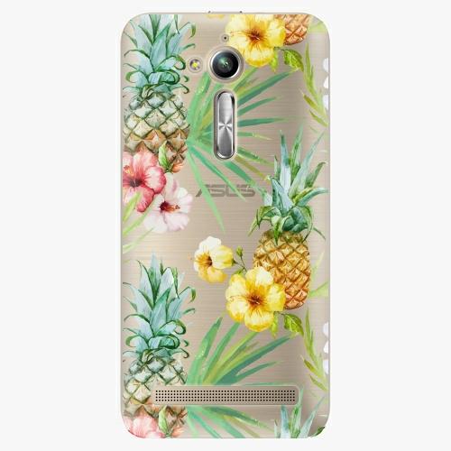 Plastový kryt iSaprio - Pineapple Pattern 02 - Asus ZenFone Go ZB500KL