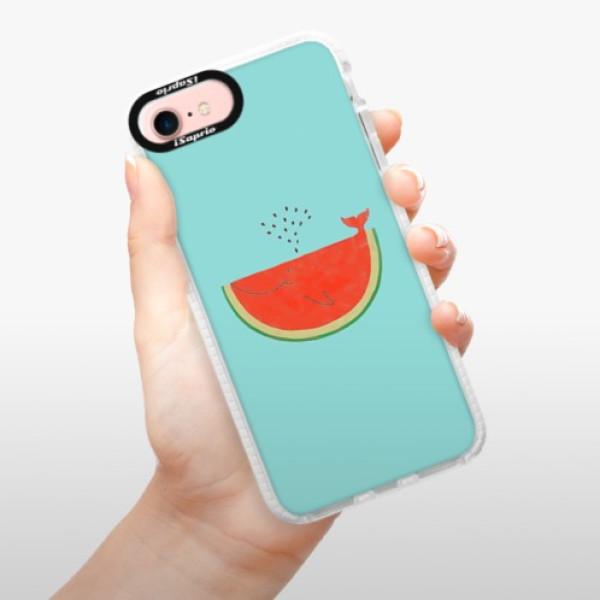 Silikonové pouzdro Bumper iSaprio - Melon - iPhone 7