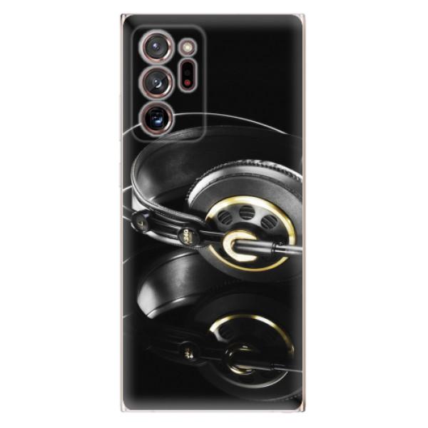 Odolné silikonové pouzdro iSaprio - Headphones 02 - Samsung Galaxy Note 20 Ultra
