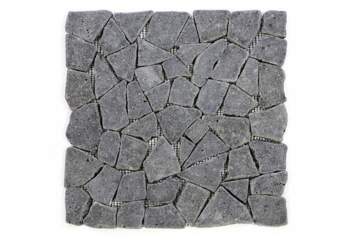 Mozaika Garth z andezitu - tmavě šedá obklady 1 m2