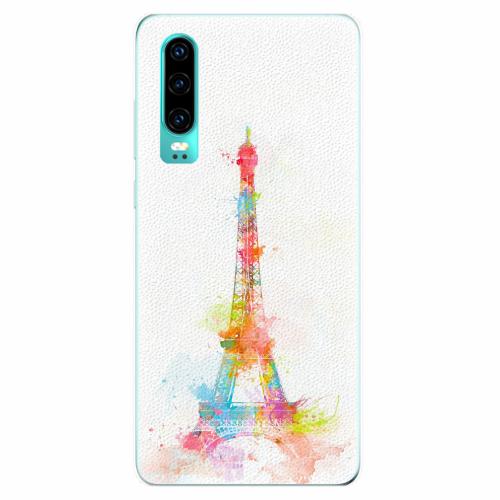 Silikonové pouzdro iSaprio - Eiffel Tower - Huawei P30