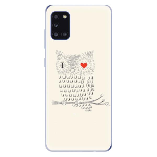 Odolné silikonové pouzdro iSaprio - I Love You 01 - Samsung Galaxy A31