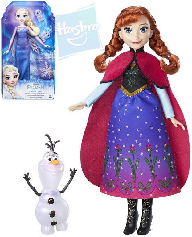 HASBRO Panenka Anna/Elsa Frozen (Ledové Království) set s třpytivým kamarádem