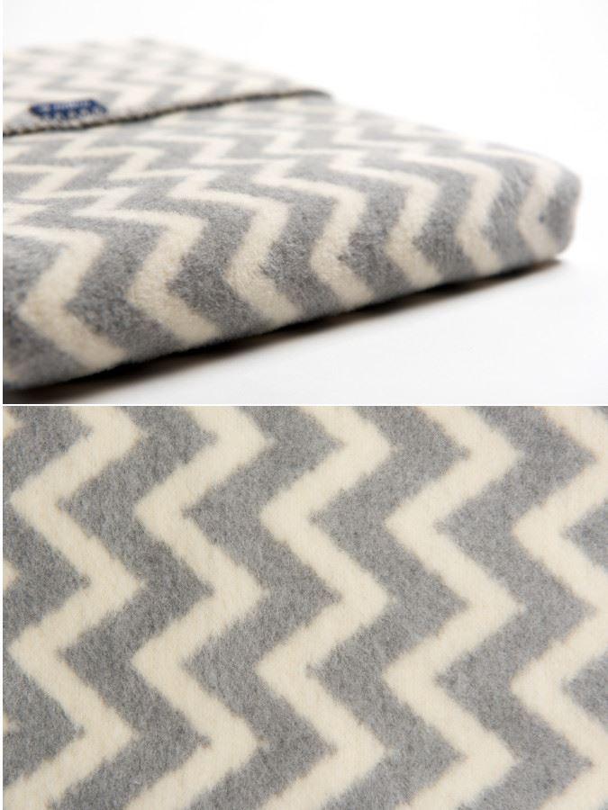 Dětská bavlněná deka se vzorem Cik-Cak Womar 75x100