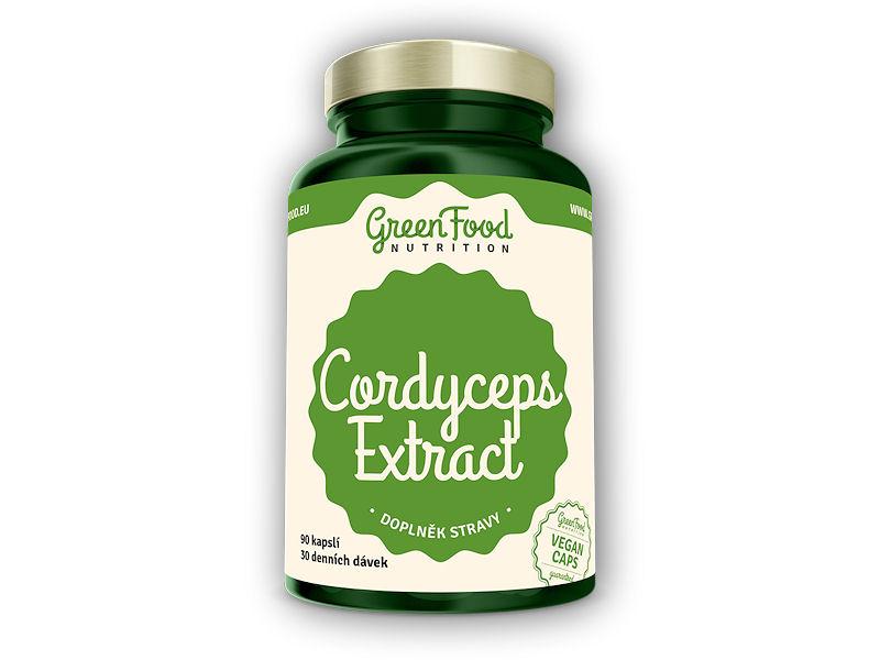 Cordyceps extract 90 vegan kapslí
