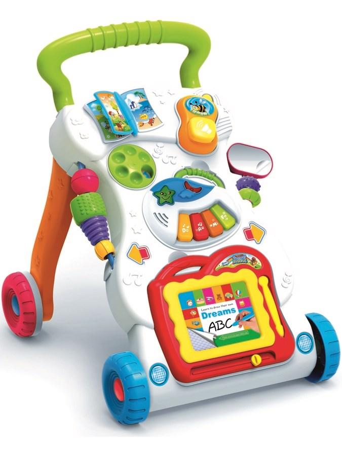 Dětské hrající edukační chodítko Bayo - dle obrázku