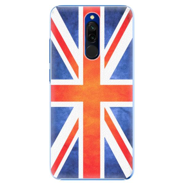 Plastové pouzdro iSaprio - UK Flag - Xiaomi Redmi 8