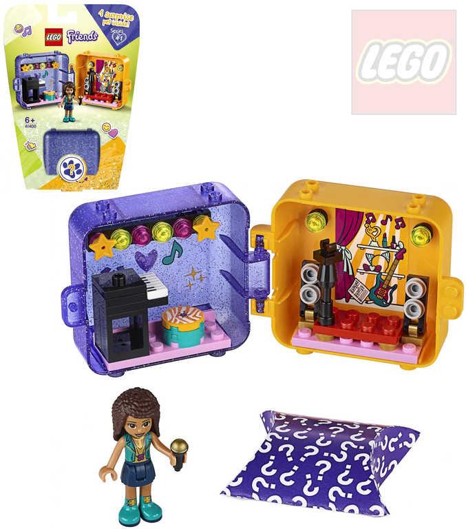 LEGO FRIENDS Herní boxík: Andrea 41400 STAVEBNICE