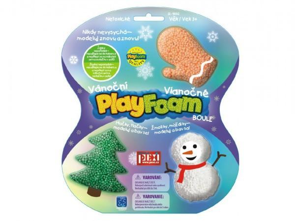MODELÍNA kuličková PlayFoam - Boule - Vánoční motivy TVAROVACÍ HMOTA
