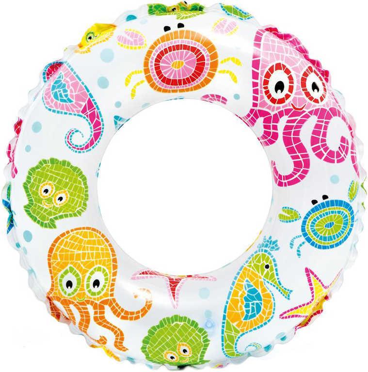 INTEX Kruh plavací dětský 51cm nafukovací kolo mořský svět do vody 3 druhy