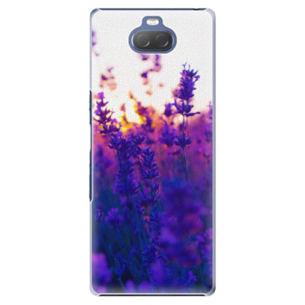 Plastové pouzdro iSaprio - Lavender Field - Sony Xperia 10 Plus