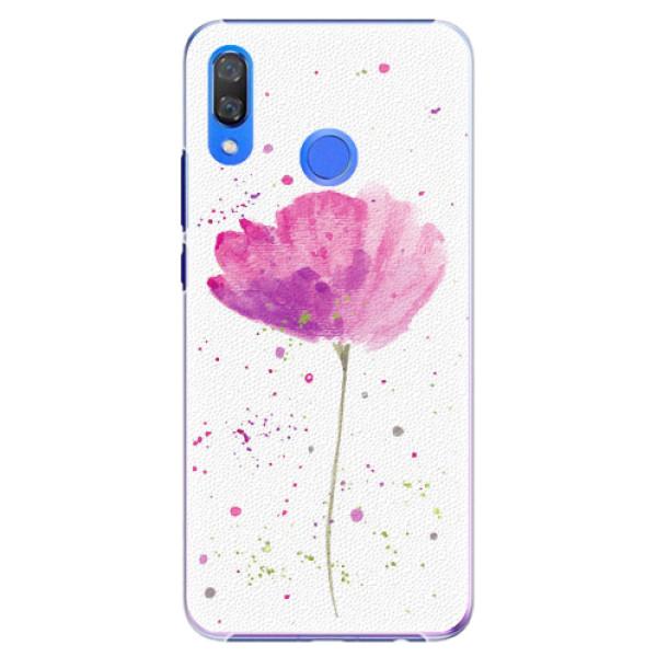 Plastové pouzdro iSaprio - Poppies - Huawei Y9 2019