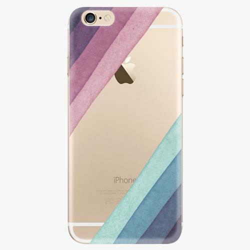 Silikonové pouzdro iSaprio - Glitter Stripes 01 - iPhone 6/6S