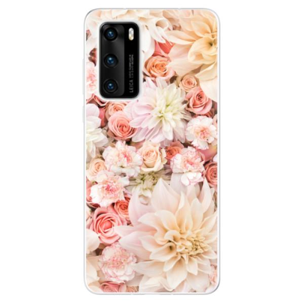 Odolné silikonové pouzdro iSaprio - Flower Pattern 06 - Huawei P40