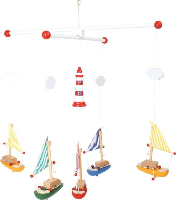 Small Foot závěsný kolotoč plachetnice s majákem