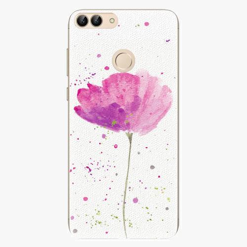 Silikonové pouzdro iSaprio - Poppies - Huawei P Smart