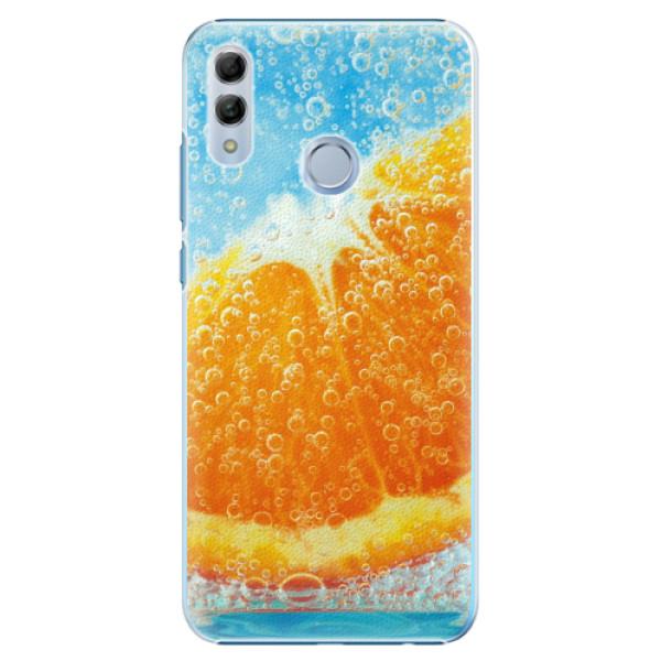 Plastové pouzdro iSaprio - Orange Water - Huawei Honor 10 Lite