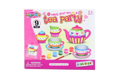 Malování čajového setu