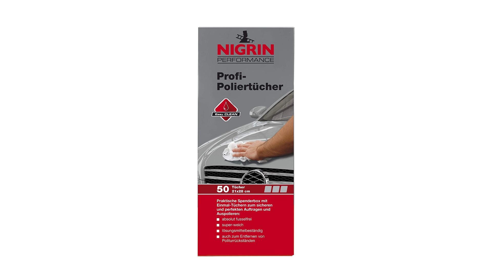 NIGRIN Polishing cloth 50pcs