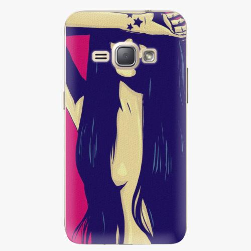 Plastový kryt iSaprio - Cartoon Girl - Samsung Galaxy J1 2016