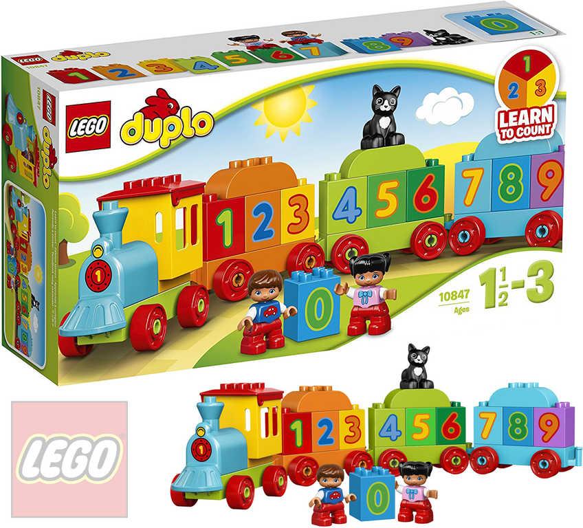 LEGO DUPLO Vláček s čísly 10847