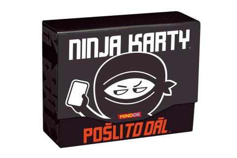 Ninja karty: Pošli to dál