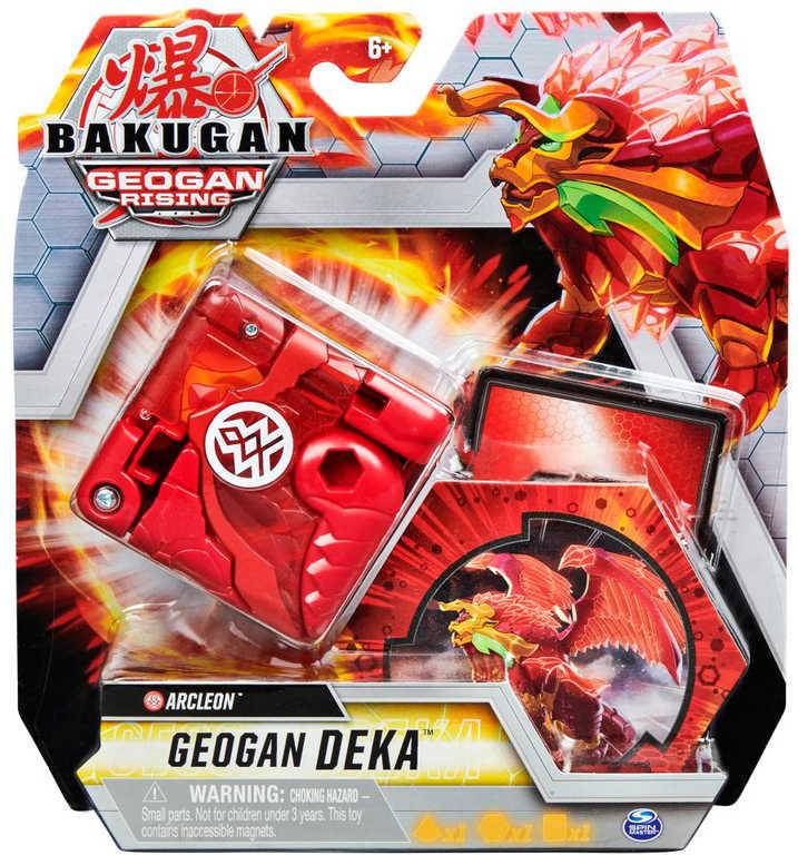 Bakugan Geogan S3 Deka bojovník set s Geo žetonem a kartou schopnosti 3 druhy
