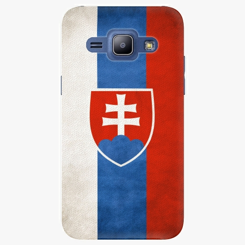Plastový kryt iSaprio - Slovakia Flag - Samsung Galaxy J1