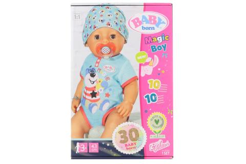 BABY born s kouzelným dudlíkem, chlapeček, 43 cm TV 1.3.-30.6.