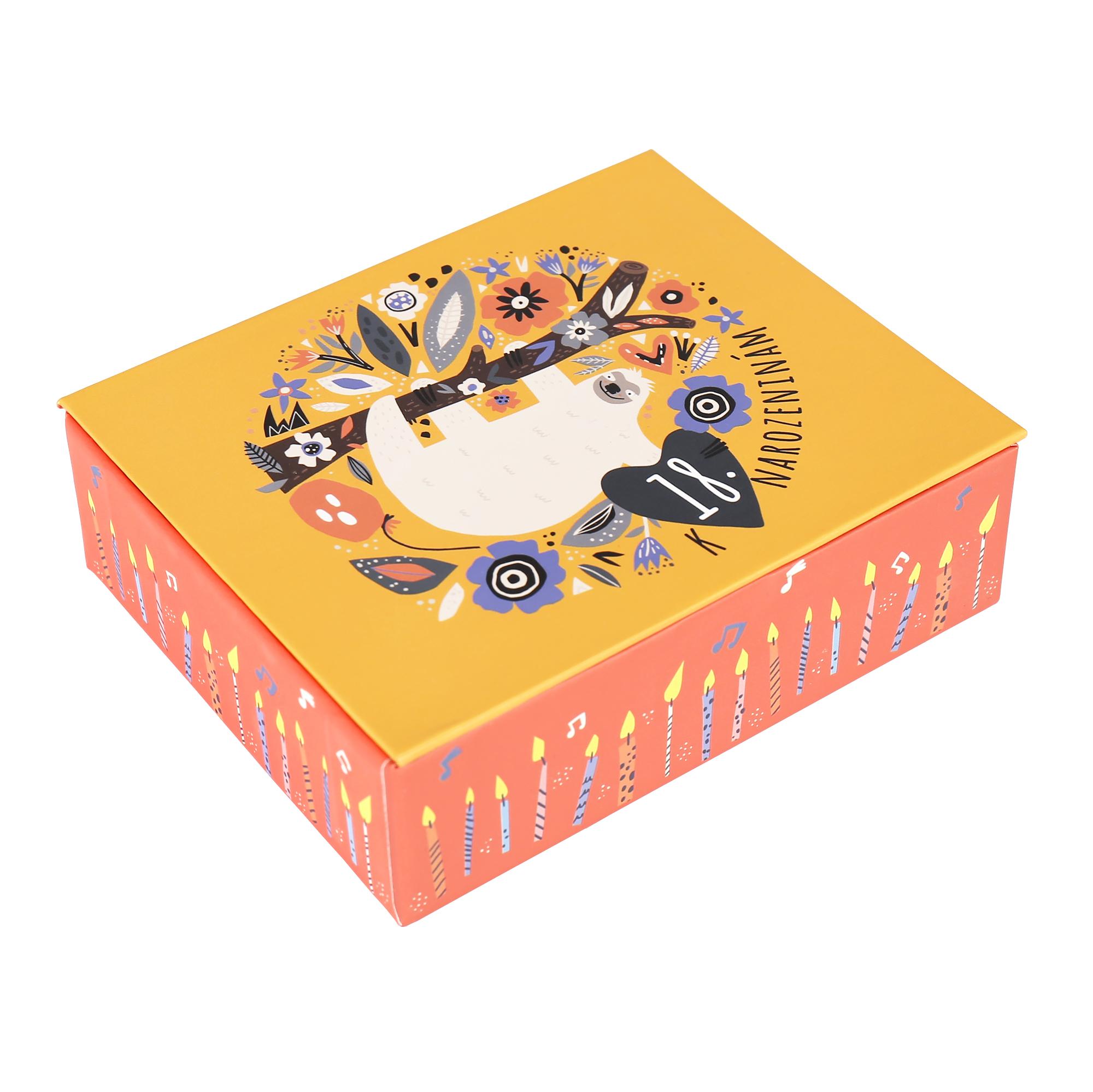 Hrací krabička - Lenochod