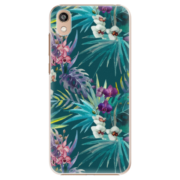 Plastové pouzdro iSaprio - Tropical Blue 01 - Huawei Honor 8S