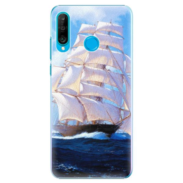 Plastové pouzdro iSaprio - Sailing Boat - Huawei P30 Lite